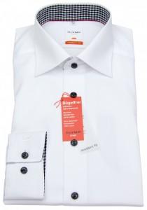 Olymp Hemd Weiß