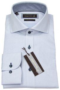 Jacques Britt Hemd mit Kontrastknöpfen