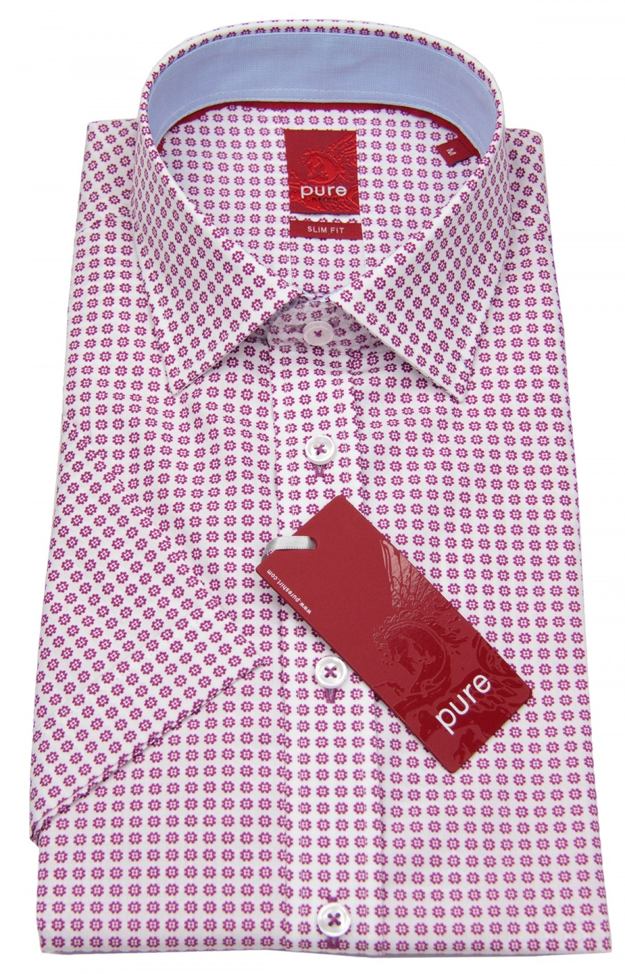 Klassische Hemden Herren Business Hemd Marvelis Body Fit Schlanke Pflegeleicht Baumwolle Kurzarm Eine GroßE Auswahl An Farben Und Designs